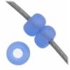 Czech Seedbead 11/0 Light Blue Aurora Borealis Matte Transparent
